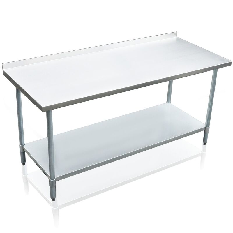 Heavy Duty Galvanized 183cm X 76cm Kitchen Bench