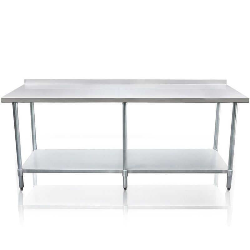 Heavy Duty Galvanized 244cm X 61cm Kitchen Bench