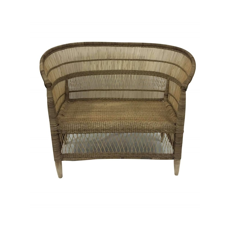 Malawi Chair Two Seater Natural Buy Armchairs Amp Accent