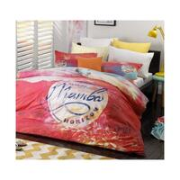 Mambo Sunset Pink Quilt Cover Set or Accessories