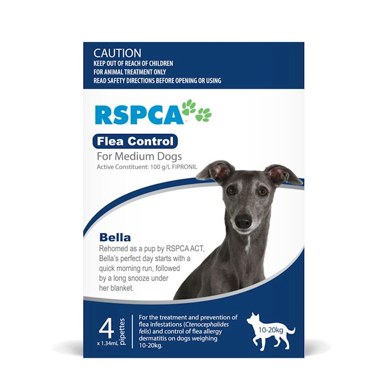 RSPCA Flea Control for Medium Dogs
