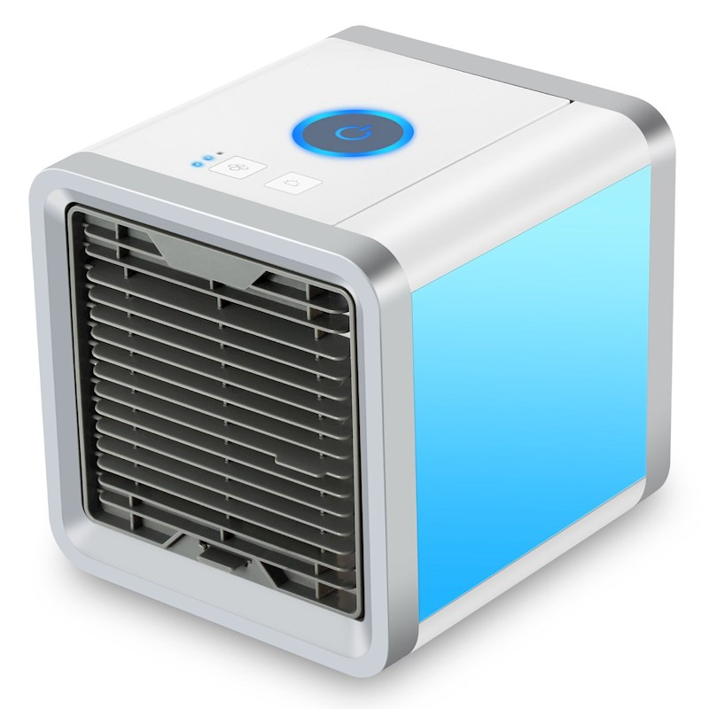 e1103e2e4 h m s Remaining. Mini Desktop Air Conditioner USB Rechargeable Small Fan  Cooling Portable Cooler