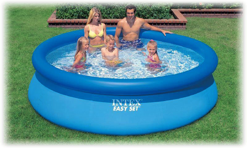 Intex Easy Set Inflatable Swimming Pool 8ft x 30in   Buy Inflatable ...