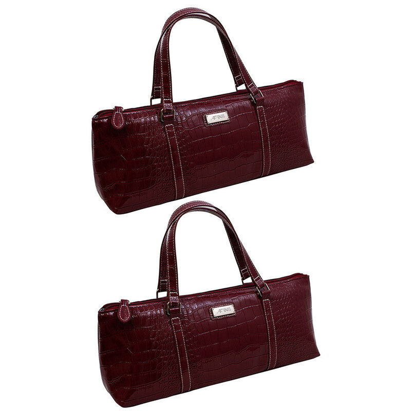 1b5abe124 2x Avanti Wine Bottle Insulated Cooler Handbag Tote Purse Bag Burgundy  Crocodile | Buy Cooler Bags - 9313803124981