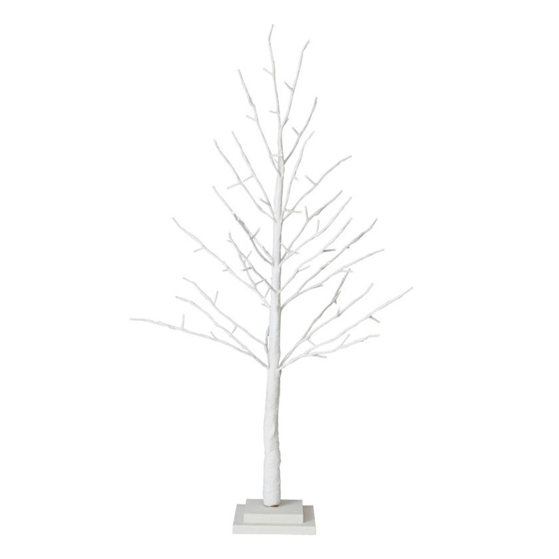 H M S Remaining White Christmas Forest Twig Tree LED