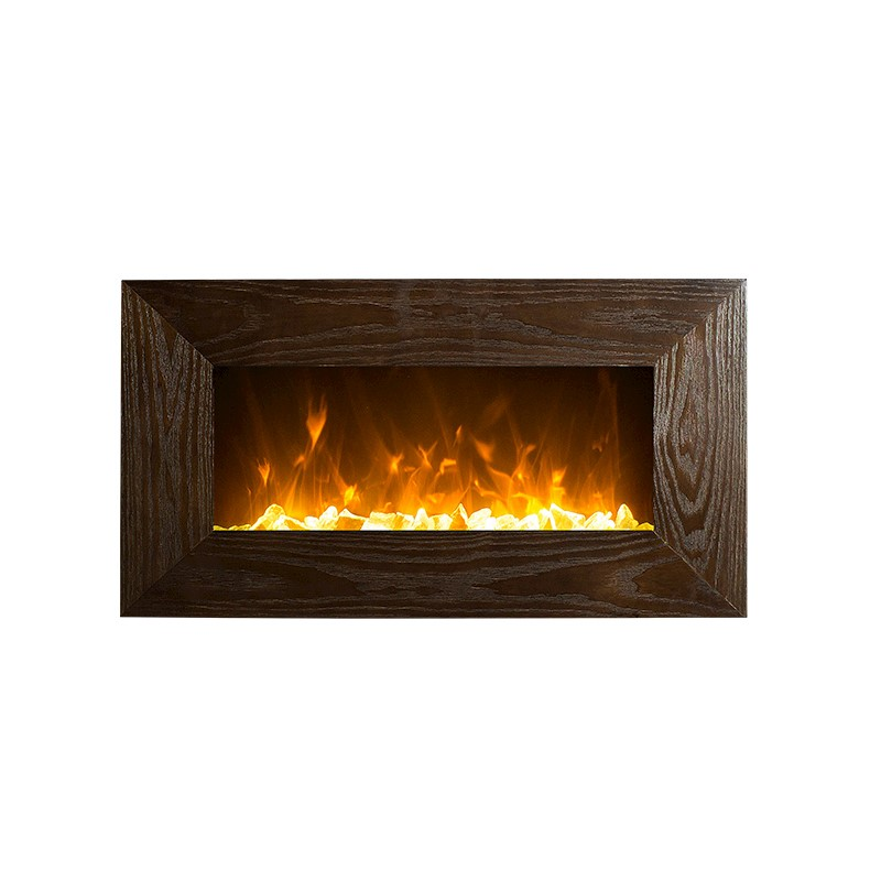Pleasing 1500W 36 Wooden Frame Mdf Wall Mounted Electric Fireplace Heater Download Free Architecture Designs Scobabritishbridgeorg