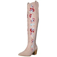 Carlos by Carlos Santana Womens Alexia Closed Toe Over Knee Fashion Boots US