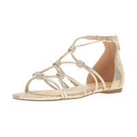 Ivanka Trump Womens Chaley2 Leather Open Toe Casual Strappy Sandals US