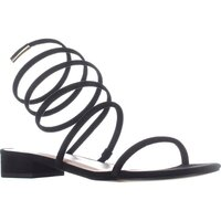 Avec Les Filles Womens Caila Open Toe Beach Ankle Strap Sandals US