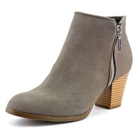 Style & Co. Womens Jamila Leather Almond Toe Ankle Fashion Boots US