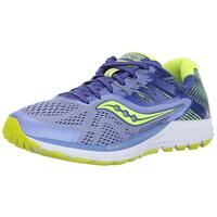 Saucony Womens Ride 10 Reflex Fabric Low Top Lace Up Running Sneaker US