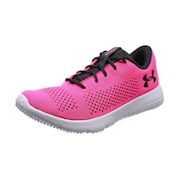 Under Armour Womens Rapid Le, Fabric Low Top Lace Up Running Sneaker US