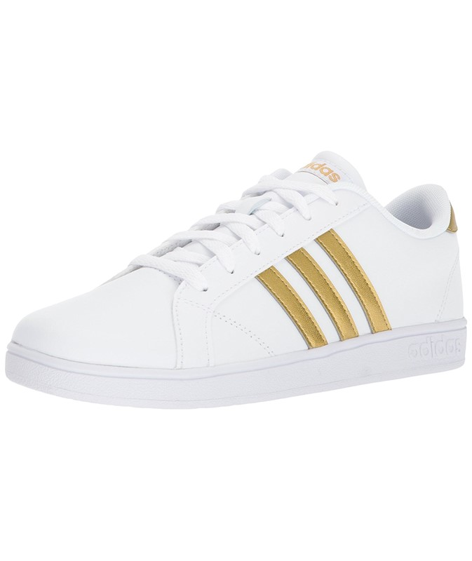 afc992acae88 Adidas Womens Baseline K Low Top Lace Up Tennis Shoes US