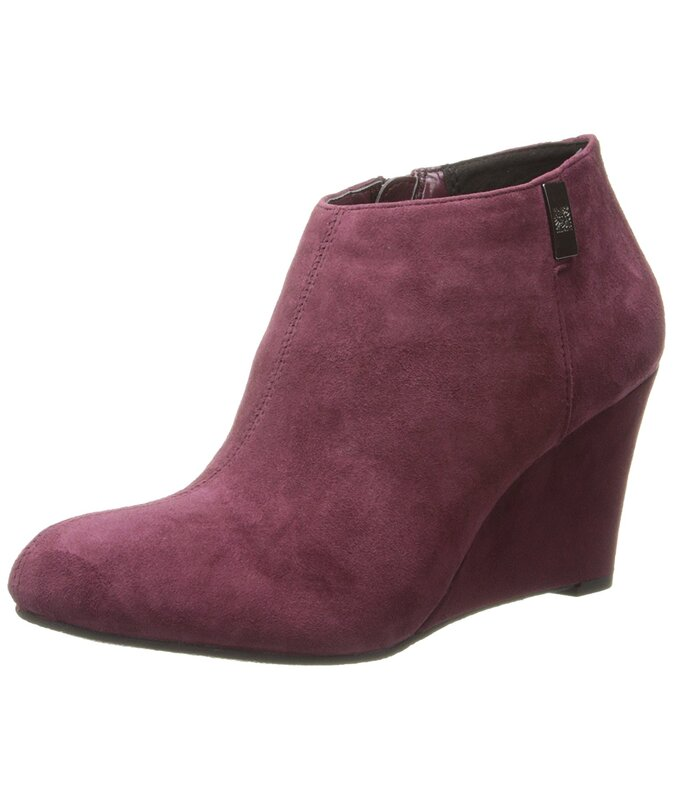 authorized site lower price with low price sale AK Anne Klein Women's Trumble Suede Wedge Ankle Booties US | Buy ...