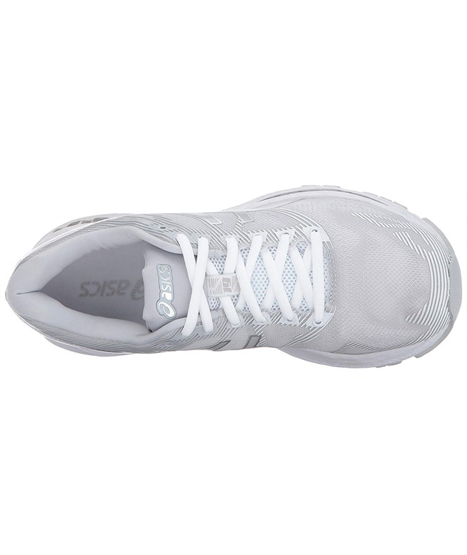 check out 6581d 812c3 ASICS WOMENS GEL NIMBUS 19 LITE-SHOW FABRIC LOW TOP LACE UP RUNNING SNEAKER  US