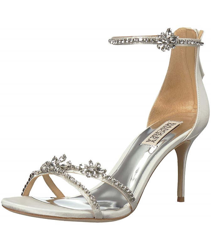 97629eb8035e Badgley Mischka Women s Hobbs Heeled Sandal US