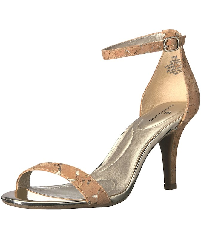 2c1185143c5f Bandolino Womens Madia Open Toe Ankle Strap D-orsay Pumps US