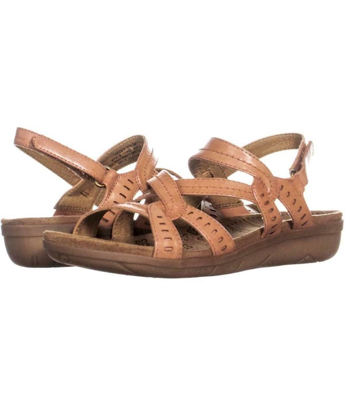 bee515dc0 Bare Traps Womens Jacey Open Toe Casual Slingback Sandals US