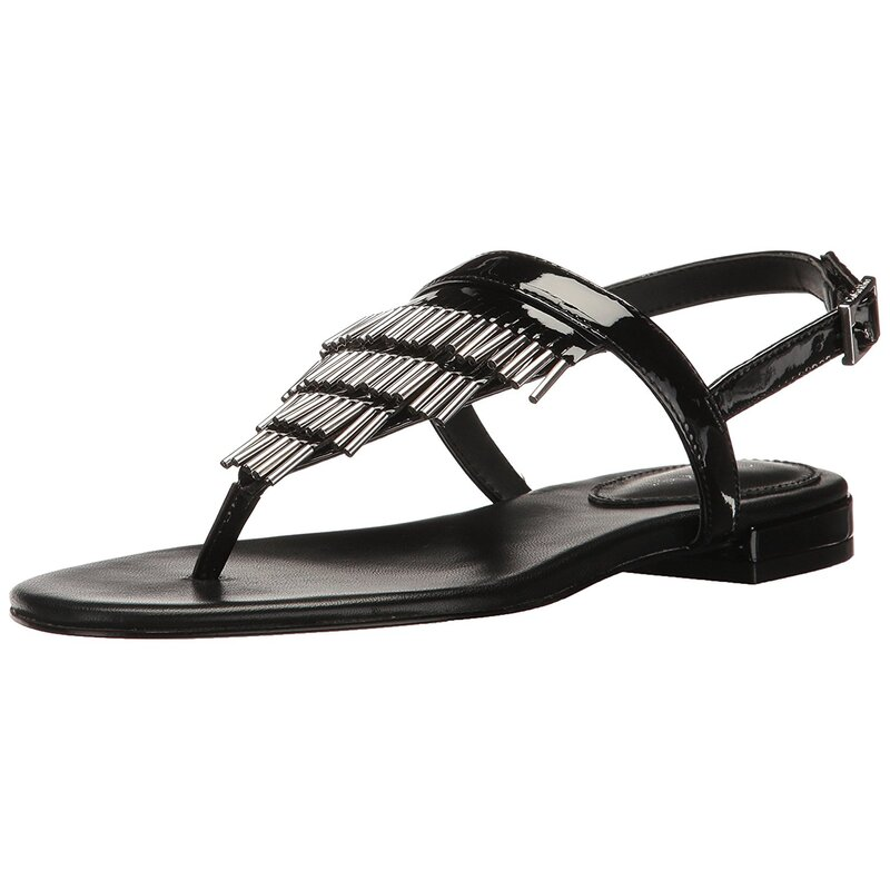 3b7b1f972cb9 Calvin Klein Womens Evonie Open Toe Casual Gladiator Sandals US ...