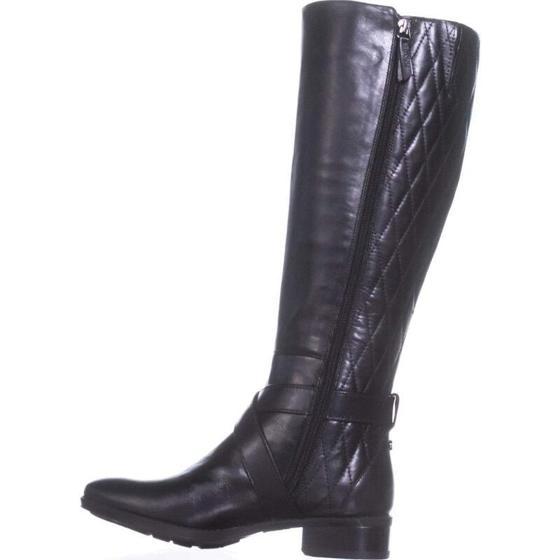 4679930dbff DKNY Womens Mattie Leather Almond Toe Knee High Fashion Boots US ...