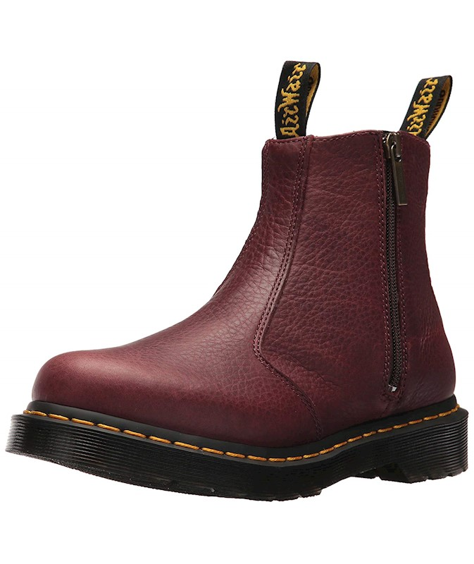 7812850c100 Dr. Martens Womens Grizzly Closed Toe Ankle Fashion Boots US