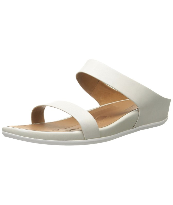 6e3476376f64 FitFlop Womens Banda Slide Open Toe Casual Slide Sandals US