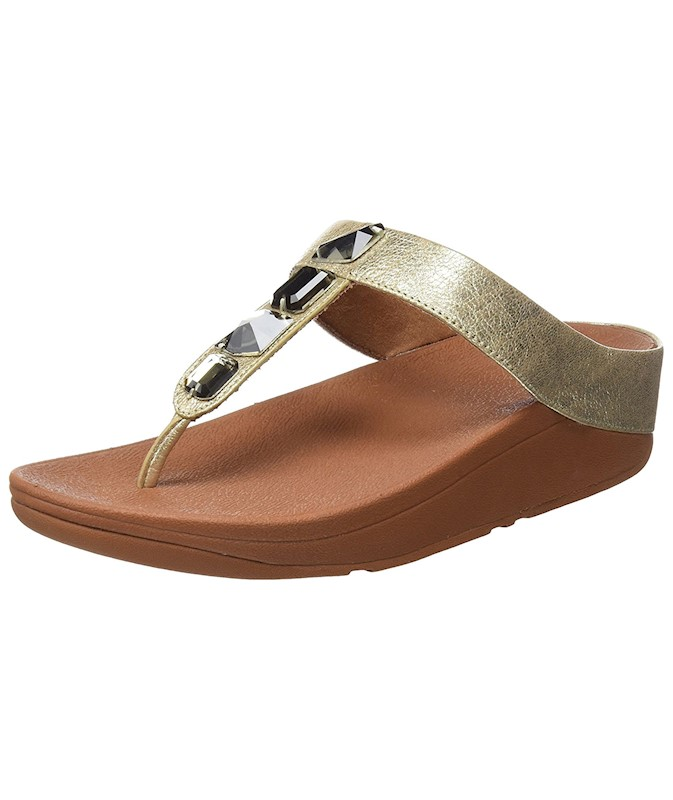 da2ed69cd12952 FitFlop Womens Roka Toe Thong Sandals US