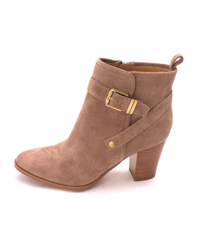 d8332ed9a22 FRANCO SARTO WOMENS DELANCY LEATHER ROUND TOE ANKLE CHELSEA BOOTS US