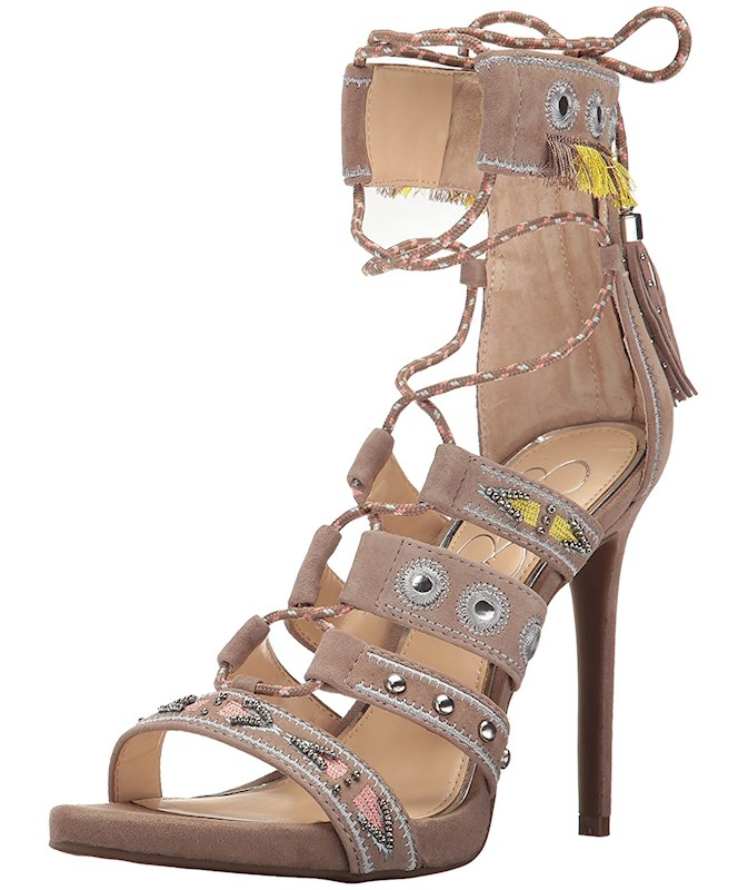 Jessica Simpson Damenschuhe Roona Open Open Roona Toe Casual Strappy Sandales US ... 9953e6