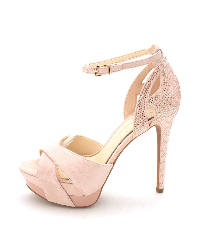 92bc1075e34 Jessica Simpson Womens Wendah Suede Open Toe Special Occasion Ankle ...