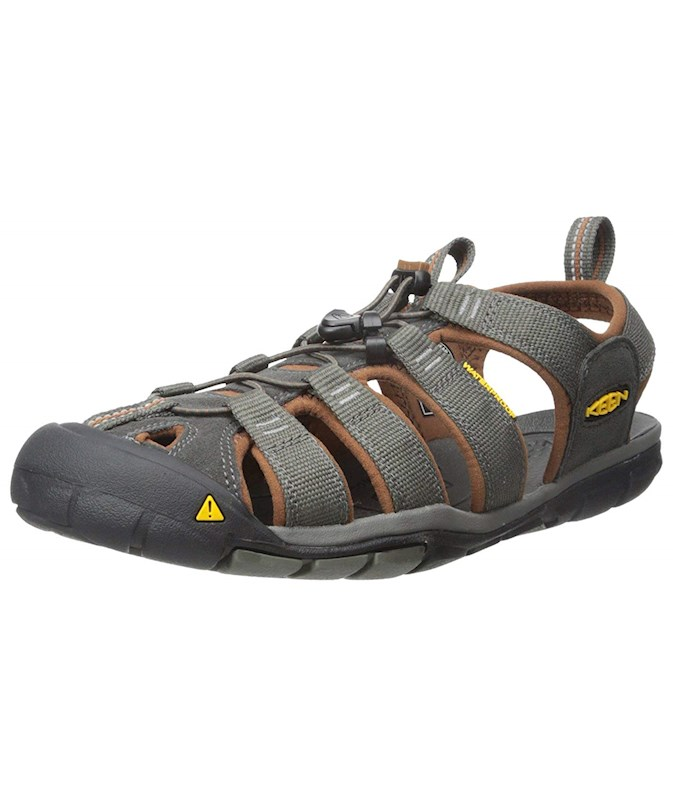 178ca8caed2b Keen Mens Clearwater Bungee Closed Toe Fisherman Sandals US