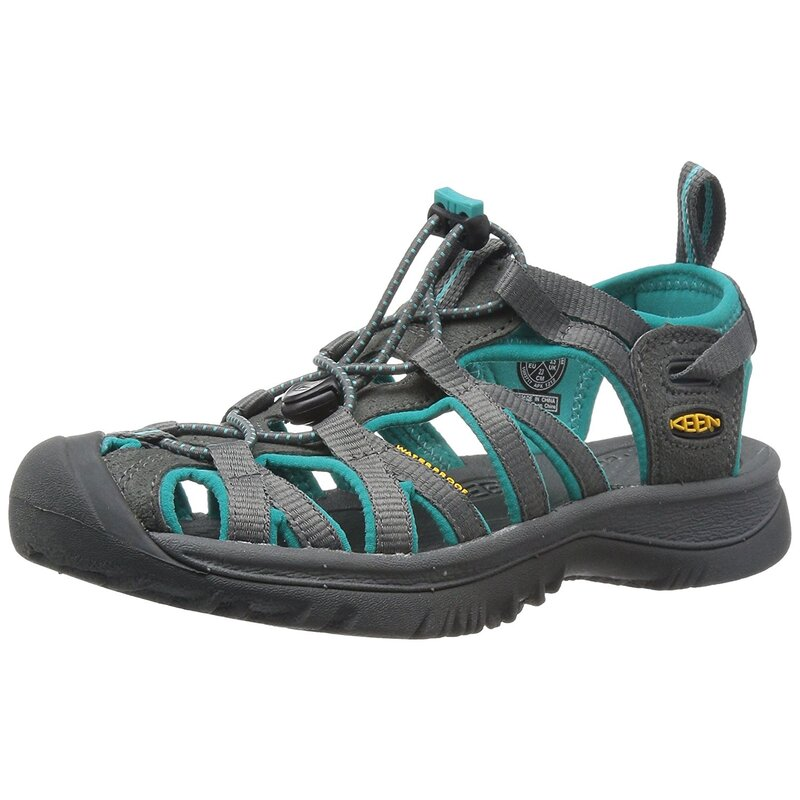 e343871dddbc Keen Womens Whisper Low Top Lace Up Water Shoes US