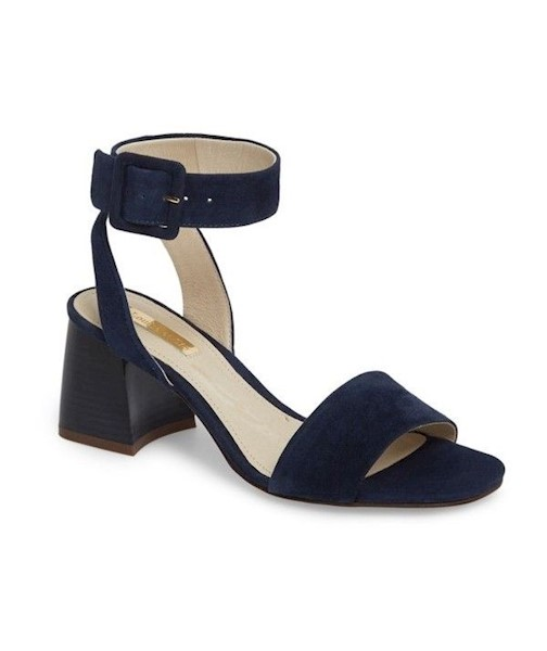 a8637482ce8 Louise Et Cie Womens Kaden Leather Open Toe Casual Ankle Strap ...