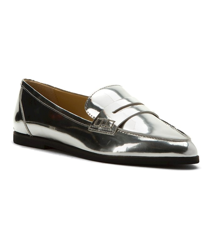 b0e67dbf4f1 MICHAEL Michael Kors Womens Connor Leather Pointed Toe Loafers US ...