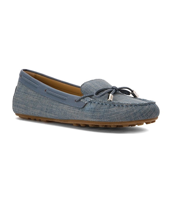 cdafd52a26934 MICHAEL MICHAEL KORS WOMENS DAISY MOC LEATHER ROUND TOE LOAFERS US