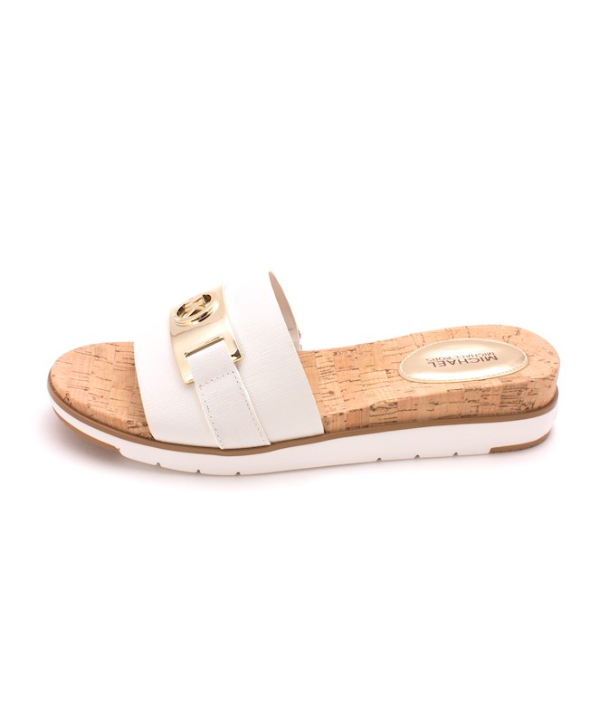 5275c83f8fbe MICHAEL Michael Kors Womens Warren Sandal Leather Open