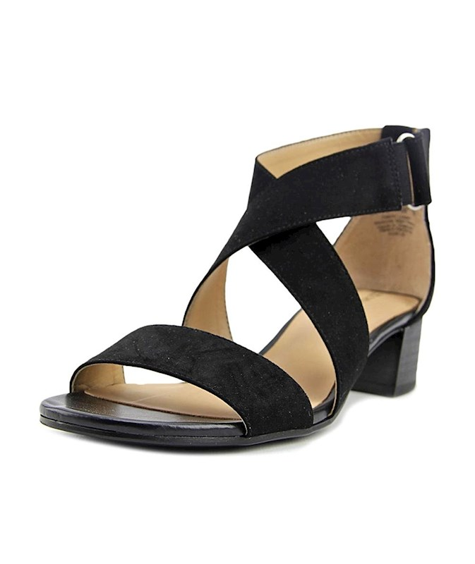 2aed9623b678 Naturalizer Womens adele Open Toe Casual Slide Sandals US
