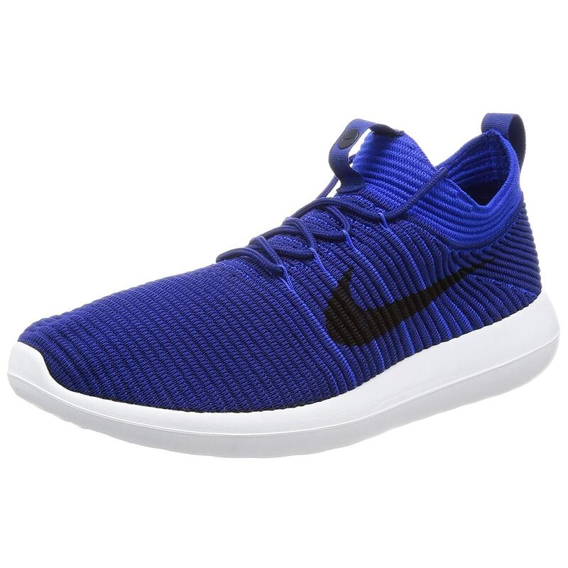 new concept 24165 af217 NIKE MENS ROSHE TWO FLYKNIT V2 LOW TOP LACE UP RUNNING SNEAKER US