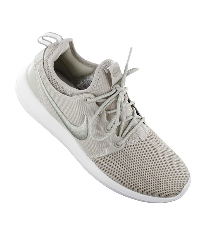 NIKE WOMENS ROSHE TWO LEATHER LOW TOP LACE UP BASKETBALL SHOES US