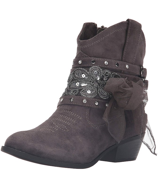 3fb674e2be0 Not Rated Womens Midas Fabric Round Toe Ankle Cowboy Boots US