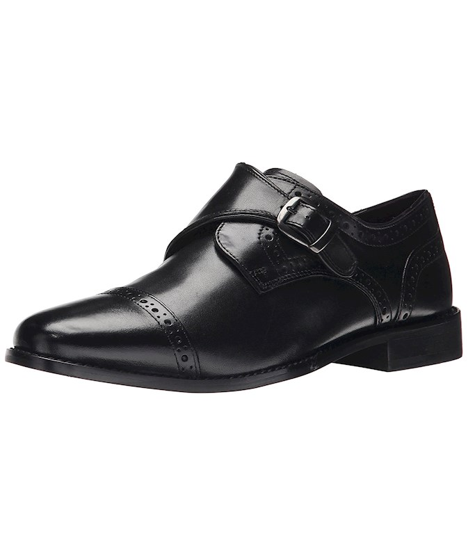 0be92d961853c Nunn Bush Mens newton Leather Buckle Casual Oxfords US