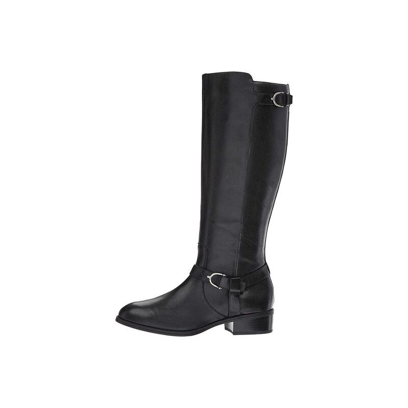 d6f8e49b9c4 Ralph by Ralph Lauren Womens Margarite Leather Closed Toe Over Knee ...