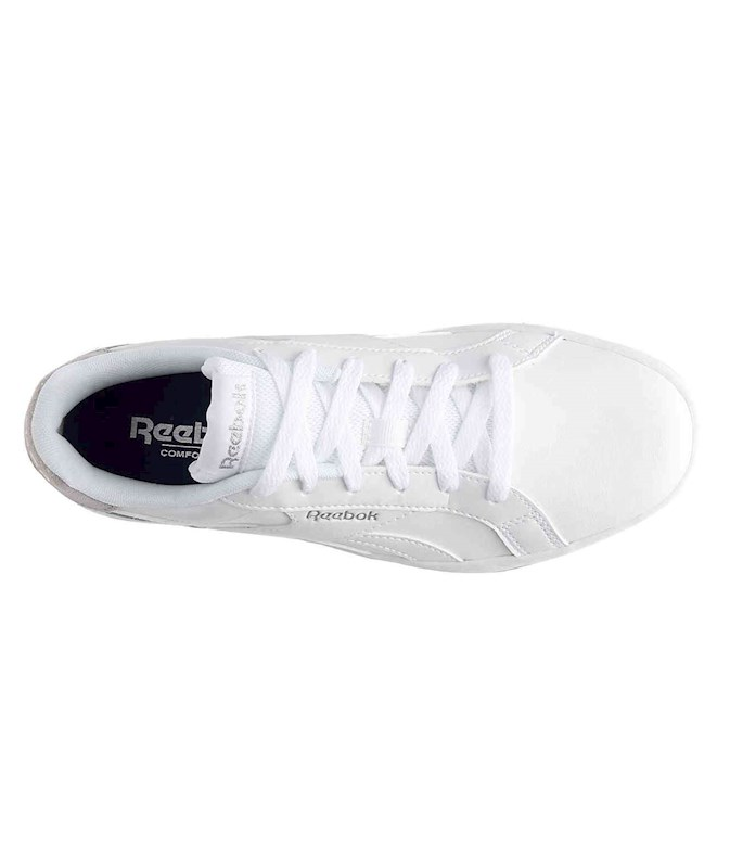 e0f84417 REEBOK WOMENS ROYAL COMPLETE 2LC LEATHER LOW TOP LACE UP BALLET & DANCE  SHOES US