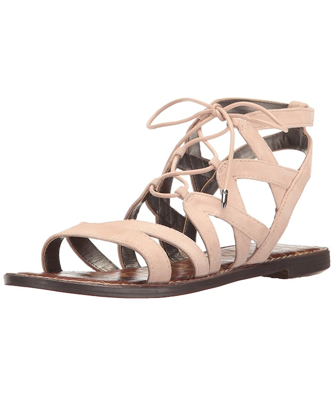 Sam Edelman Womens Gemma Suede Open Toe Casual Strappy Sandals US ... c3982842a