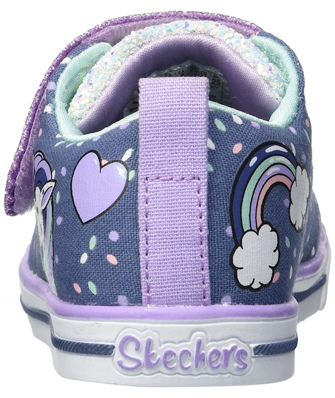 9da93f9cfacf Skechers Kids' Sparkle Lite-Unicorn Craze Sneaker US | Buy Girls ...