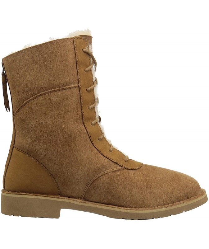 699450b856c UGG AUSTRALIA WOMENS DANEY SUEDE ROUND TOE MID-CALF COLD WEATHER BOOTS US