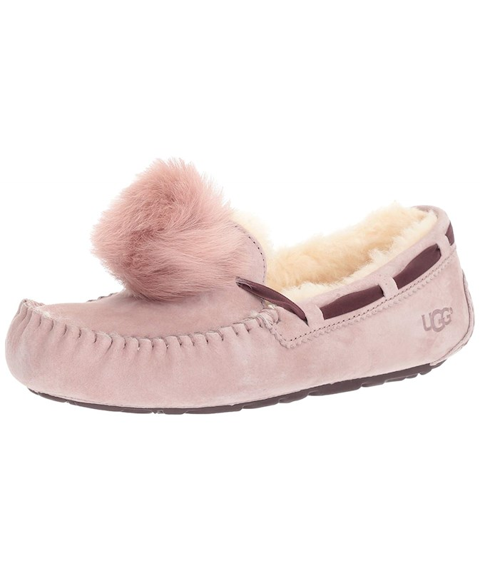 b731ff488bb UGG Women's Dakota Pom Pom Moccasin US