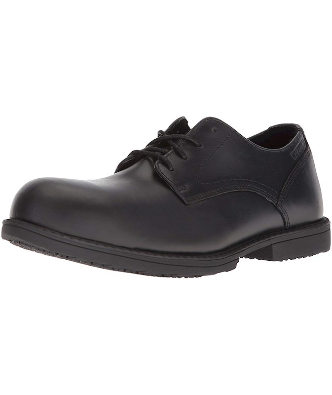 6a4281771cc Wolverine Men's Bedford Steel-Toe Oxford SR Industrial Shoe US