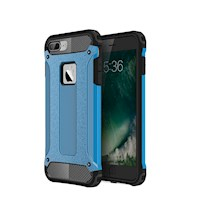 For iPhone 8 PLUS,7 PLUS Case,Elegant Strong Armour Tough Shielding Cover,Blue