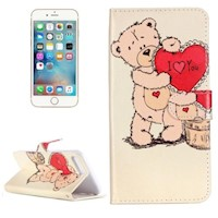 For iPhone 8 PLUS,7 PLUS Wallet Case,Love Expressing Durable Protective Cover